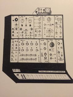 Modular Analog Synthesizer Original by StrangeWorldofSynths