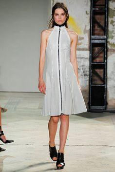 Proenza Schouler Spring 2013 Ready-to-Wear Fashion Show - Caroline Brasch Nielsen