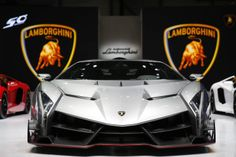 Lamborghini's New $3.9 Million Veneno Supercar.  http://www.topcarmods.net/