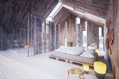 KOŁO ULTRA / Modern Barn – nowoczesna STODOŁA | wnętrza & DESIGN | projekty DOMÓW | dom STODOŁA