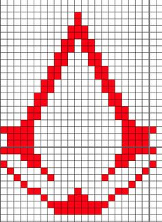 Ravelry: Assassins Creed Logo pattern