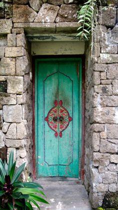 Bali, Indonesia door - So simple, but so pretty!