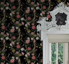 Kingdom Home is an Australian wallpaper, fabric and custom surface design studio founded on producing engaging designs for your interior space. Wallpaper Designs, Designer Wallpaper, Chinoiserie, Surface Design, Peony, Florals, Color Schemes, Butterflies, Exotic