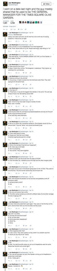 Please Enjoy These Twitter Stories That Are Long But Worth The Read
