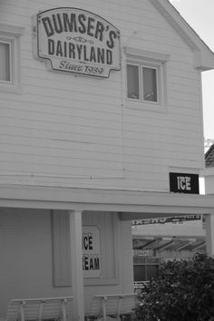 Dumser's Dairyland Ice Cream~~an Ocean City Maryland tradition...Photo taken by Susan Peterson