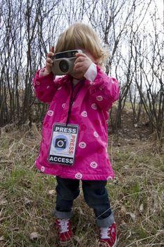 Laat kinderen fotograferen als je de natuur in gaat, zo gaan ze nog beter om zich heen kijken, onderzoeken en ontdekken!