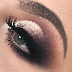 14 Absolutely gorgeous makeup ideas - Smokey Glam makeup #makeup #eyemakeup #eyeshadow