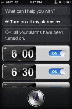 Sleep In By Telling Siri To Turn Off All Alarms [iPhone 4S Tip]