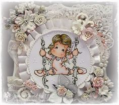 Cards made by Chantal: TFM #56 Shabby Chic or vintage