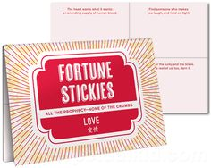 FORTUNE STICKY NOTES LOVE