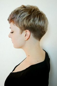 Very short pixie haircuts