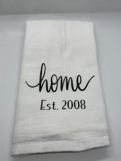 Housewarming gift wedding gift flour sack towel kitchen towel tea towel hand towel funny kitch - Hand Towels - Ideas of Hand Towels