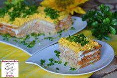 Szalona Kuchnia Eweliny: Wielkanocna jajeczna sałatka na krakersach French Toast, Pork, Meat, Breakfast, Kale Stir Fry, Morning Coffee, Pigs, Morning Breakfast