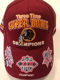 eab56b99bd2 Reebok Washington Redskins Super Bowl Champions Commemorative Cap  Adjustable Review