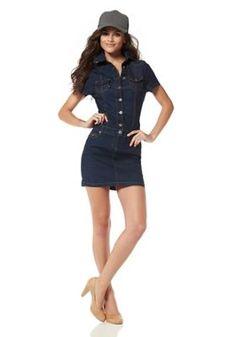 Denim Dress by Arizona Arizona, Trends, Denim Skirt, Dresses For Work, Womens Fashion, Skirts, Vintage, Dresses For Teens, Diaries