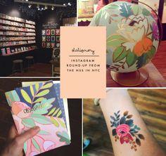 Poppytalk: National Stationery Show   Instagram Round-Up