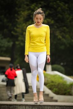 Best Sporty Outfits Part 4 Yoga Pants Girls, Girls Jeans, Sporty Girls, Sporty Outfits, Sexy Asian Girls, Sexy Hot Girls, Fitness Wear Women, Nylons, Asian Hotties