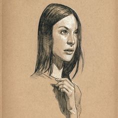 I really enjoy drawing in my toned paper sketchbook. Just to have the ability to go in 2 value directions with the pencil gives you a lot...