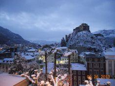 Le chateau de Lourdes.