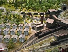 Innovative Toy Train Set Layout Making Strategies For Your Innovative Model Railroad Assignments N Scale Model Trains, Model Train Layouts, Scale Models, Company Town, Garden Railroad, Standard Gauge, Hobby Trains, Miniature Plants, Great Hobbies