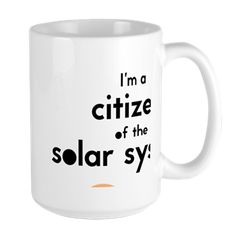 Citizen Large Mug Red Planet, The Martian, Citizen, Mars, The Good Place, I Shop, March