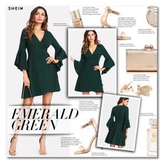 """""""Emerald City: Pops of Green"""" by smajlovicelvira ❤ liked on Polyvore featuring Elizabeth Arden, Ted Baker, Tory Burch and emeraldgreen"""
