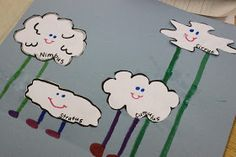 Simply Second Grade: Clouds!