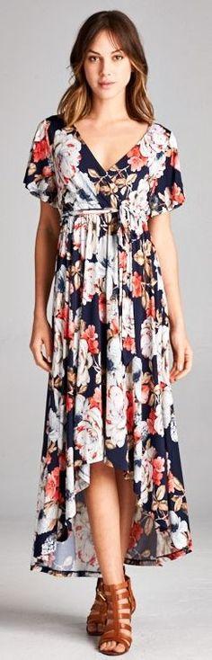Sarah Floral Dress