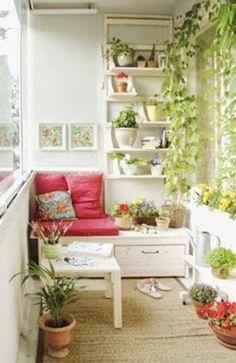 The Blue Post: Inspirações para decorar uma varanda pequena
