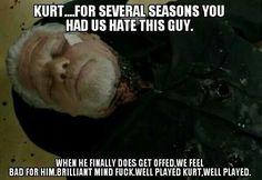 No. 8 - Well Played Kurt... Well Played. 39 memes only SOA fans understand.