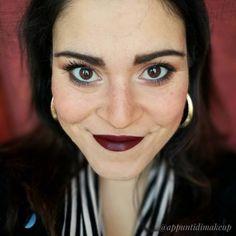 Stamattina un po' dark ma andavo per uno e il rossetto scuro fa sempre la sua figura e regge da solo tutto il trucco  per sapere questo cos'è andate su Facebook  #FOTD #faceoftheday #appuntidimakeup #igers #igersitalia #ibblogger #bblogger #igersroma #love #picoftheday #photooftheday #amazing #smile #instadaily #followme #instacool #instagood http://ift.tt/1TFKZ3u