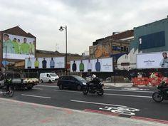 @StoneIsland dominates #OldStreet #LDN on @JCDecaux_UK #OOH - GR8 #OOHImpact & #OOHpresence