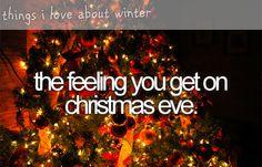 ahhh, love that feeling :)