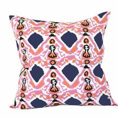 Pink Khandar Pillow - Girls Room