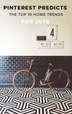 Go bold or go home love these Geometric Tiles Floor Patterns, Tile Patterns, Bathroom Floor Tiles, Tile Floor, Downstairs Bathroom, Geometric Tiles, Design Blog, Home Trends, Tile Design