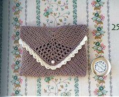 carteras a crochet con patrón