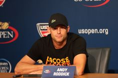 Andy Roddick announces his retirement from tennis at the 2012 US Open.