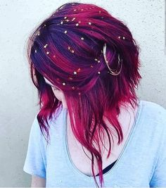Check Out Our , Galaxy Hair too Cool Blue Purple and Green Dyed Hair, Pin by Jenna Harbaugh Cordell On Hair Color In Galaxy Hair by Ursula Goff & Stuff Home. Dye My Hair, New Hair, Dyed Hair Men, Hair Inspo, Hair Inspiration, Pelo Multicolor, Coloured Hair, Colored Short Hair, Cool Hair Color
