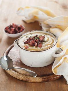 Hearty Soup Recipe: Creamy Potato Leek and Ham Soup