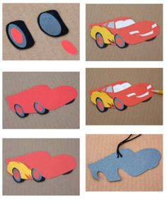 Children can make their own cars crafts for pre-movie fun - Southern Outdoor Cinema expert tip for theming and enhancing an outdoor movie event.