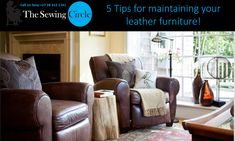 5 Tips for maintaining your leather furniture!  Leather furniture can cost a fortune and even if you buy a version at a reasonable price, leather is a material that needs care!  Even the best leather furniture brands require maintenance and care too, here are some useful tips that will help you keep your leather furniture in its original form:  1. Protect your Furniture from Sunlight.  Direct sunlight can damage your leather and leave behind marks, keep you leather furniture out of the sun…