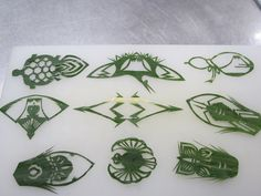 Bamboo Leaf Sushi Decoration