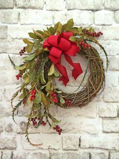 Charmant Berry Fall Wreath For Door, Berry Wreath, Front Door Wreath, Silk Floral  Wreathu2026