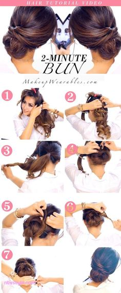 Romantic Lower Updo Hairstyles Suited Every Occasion  http://www.ntvstyle.com/romantic-lower-updo-hairstyles-suited-every-occasion/ NTV Style