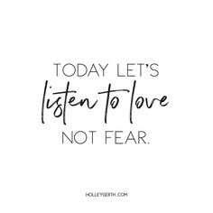 """Let's make love the loudest voice in our lives this week. """"God is love."""" {1 John 4:8}"""