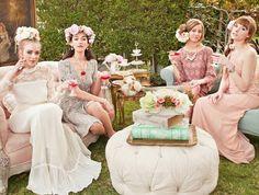 Victorian-Themed Wedding Shoot / Ruche Blog