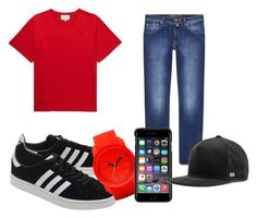 A menswear look from August 2017 featuring mens ripped shirts, mens stretchy jeans and mens caps. Browse and shop related looks. Ripped Shirts, Mens Caps, Adidas Originals, Diesel, Milan, Men's Fashion, Gucci, Menswear, Polyvore
