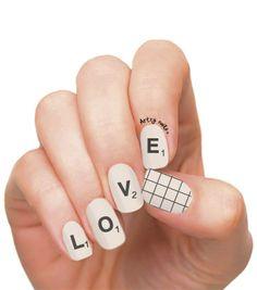 Scrable Nails