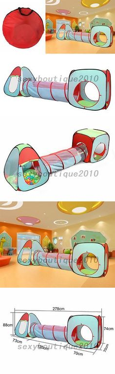 Other Play Tents and Tunnels 11744 3 In 1 Children Tunnel Tent Baby Toy Play  sc 1 st  Pinterest & Other Play Tents and Tunnels 11744: Paw Patrol Fire Truck ...