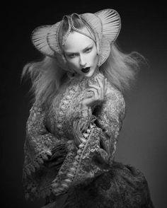 The Lady In Black-Photo-Art-Design